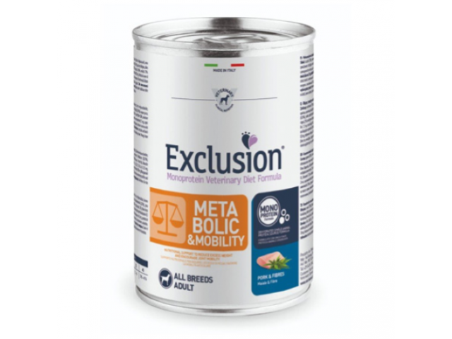 Exclusion Diet Metabolic & Mobility Dog umido