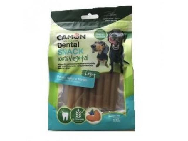 camon dental snack 100% vegetal patata dolce, mela e cannella